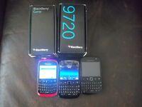 3 Blackberrys