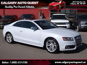 2011 Audi S5 4.2 Premium Plus AWD/NAVI/6-SPEED/B.CAM/LEATHER