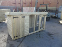 dog kennel 8x4 loglap