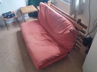 Great double futon in good condition (mattress and frame)