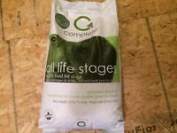 Unopened 25lb bag of dogfood