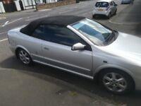 Vauxhall Astra convertible 2003 great car mot till march 2019