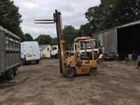 Komatsu gas forklift truck