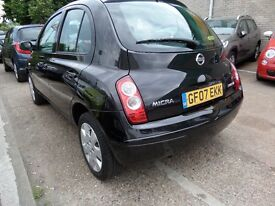 NISSAN MICRA 5 DOOR +FULLY HPI CLEAR REPORT+FULL SERVICE HISTORY+2 KEY+ 1 YEAR LONG MOT LADY OWNER
