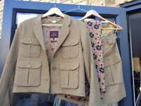 Mulberry - *TOP DESIGNER*, Italian Made 2 piece skirt suit. Waders Green, Tippi Skirt. *UNWORN*