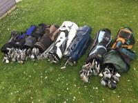 Golf club job lot