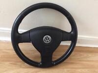 Volkswagen Complete Steering Wheel
