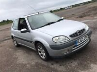 2003 CITROEN SAXO 1.6 2 VTR PETROL MANUAL 3 DOOR HATCHBACK GREAT DRIVE MOT SPORTS CAR NOT CORSA POLO
