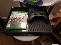 Xbox one 500gb and assassin's creed unity