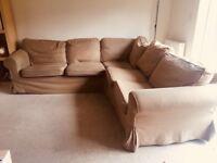 large 5 seat corner sofa