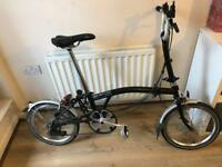 Brompton M6L 2015 Foldable Bike