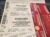 Thirty Seconds to Mars Tickets Cardiff Motorpoint Arena