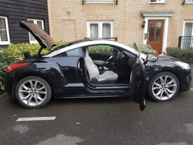 Peugeot RCZ (with SAT NAV), Low Mileage, MOT & Full Service HistoryQuick Sale Required