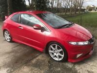 HONDA CIVIC 2.0 I-VTEC TYPE-R GT 3d 198 BHP (red) 2010