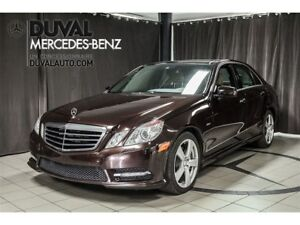2012 Mercedes-Benz E-Class E350 4MATIC CUIR CAMERA