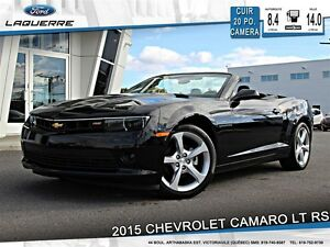 2015 Chevrolet Camaro LT RS*20 PO*CUIR*CAMERA**