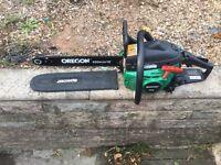 Qualcast petrol chainsaw 16 inch blade
