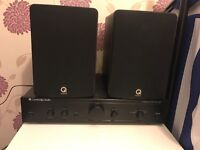 HI FI SYSTEM AMP AND SPEAKERS FOR SALE £150 ONO