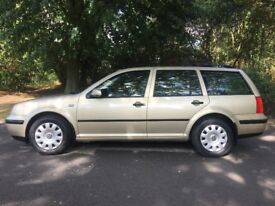 VOLKSWAGEN GOLF SE ESTATE. 2.0 ONLY 71000 ON THE CLOCK, FULL SERVICES HISTORY