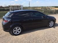VAUXHALL ASTRA SXI BLACK 1.6 COUPE 3 DOOR, GLASS ROOF, SERVICE HISTORY, ONE PREVIOUS OWNER