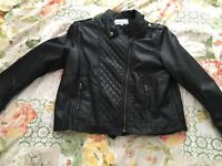Brand New Leather Look Jacket