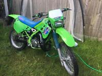 1990 Kawasaki kdx 125 restored to a good standard learner legal 7000 miles from new