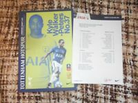 Spurs v Newport County FA Cup 4th Round Replay Football programme