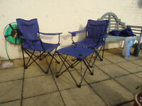 Folding Camping Chairs and Table