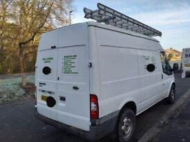 63 reg Ford transit mwb 125 6 speed new mot looks and drives like new must see