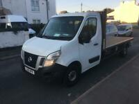 2016 66reg Nissan NV400 2.3 Dci LWB Flat bed white CHOICE OF 4