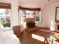 Bright and beautiful two double bedroom split level period conversion with a private garden.
