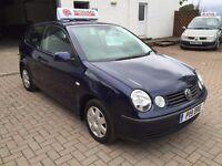 6 MONTHS WARRANTY, 12 MONTHS MOT, Volkswagen Polo 1.4 Tdi SE 3 dr man, hist, very clean economic car