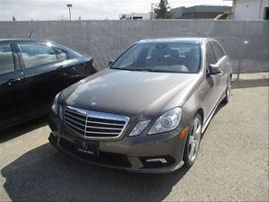 2011 Mercedes-Benz E-Class 4matic | NAV | Moonroof | Leather