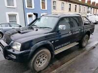 WARRIOR MITSUBISHI L200 2.5TD 4LIFE 4WD Only Done 93k