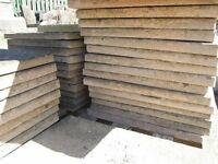 Riven faced paving slabs 450x450