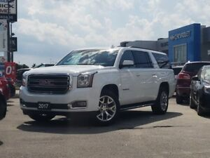 2017 GMC Yukon XL SLT SLT, 8 PASS, NAV, DVD, ONE OWNER, NO AC...