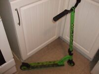 MGP 360 STUNT SCOOTER...GREEN...GOOD CONDITION..£35 NO OFFERS