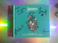 JAMES. SIGNED. LIVING IN EXTRAORDINARY TIMES CD