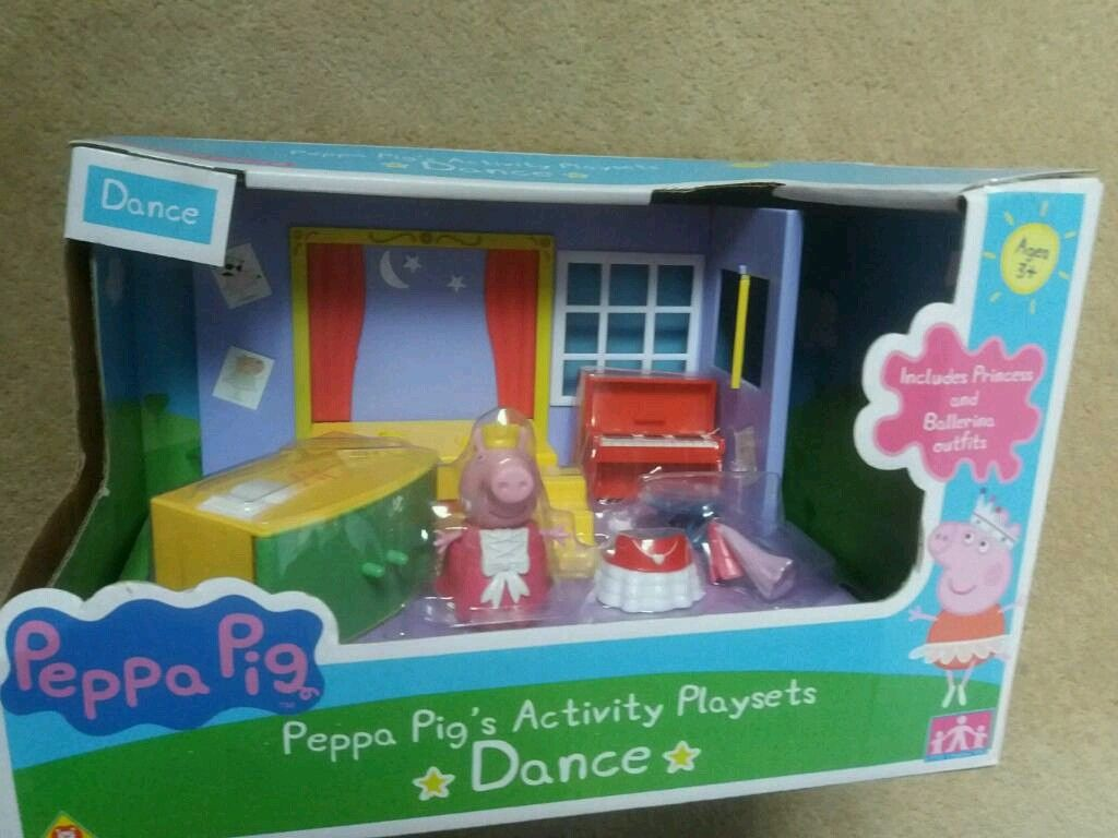 Peppa Pigs Dance Activity Playset