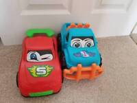 2 x toy cars for sale
