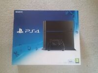 PLAYSTATION 4 500GB BRAND NEW AND SEALED