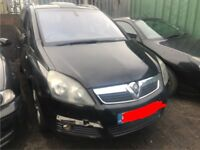 VAUXHALL ZAFIRA, 2007, 2.2 DIRECT, AUTOMATIC BREAKING FOR SPARES