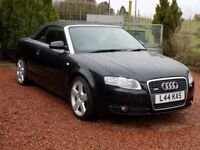 Audi A4 Convertible TDI 140 Black