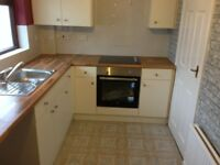 Newly renovated 3 bed semi-detached house to let in Cullybackey, Ballymena, Co. Antrim.