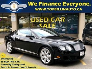 2009 Bentley Continental GT Black on Black