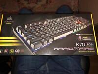 Corsair K70 rgb keyboard