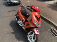 Peugeot speedfighter 70cc reg as 50cc moped scooter vespa honda piaggio yamaha gilera