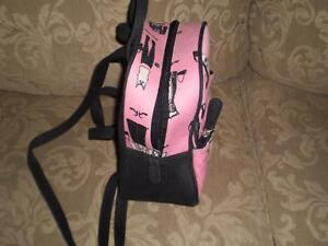 Pink & Black small backpack purse Kitchener / Waterloo Kitchener Area image 3