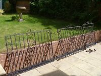 WROUGHT IRON GARDEN GATES FOR SALE GUILDFORD COLLECTION ONLY