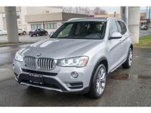 2016 BMW X3 xDrive Turbo Diesel Only 47,000KM